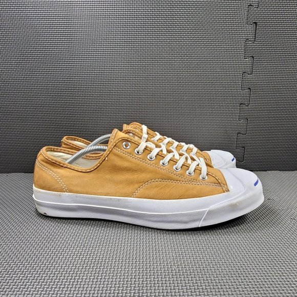Mens Sz 11.5 Tan Converse Jack Purcell Signature O